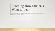 First slide of Learning How Students Want to Learn
